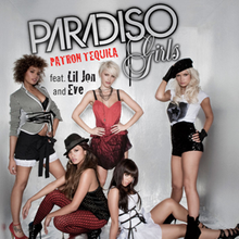 «Patron tequila». Paradiso girls.