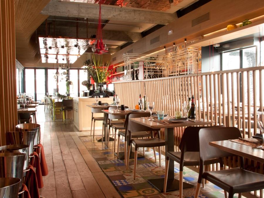Restaurante terraza la cocina de san ant n en chueca madrid - La cocina madrid ...