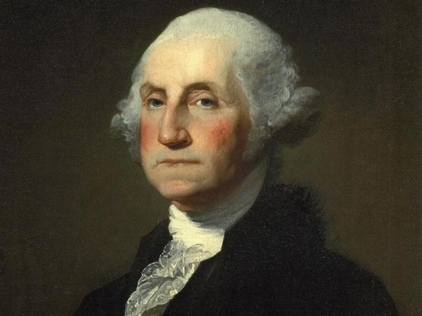 George Washington, Primer Presidente de Estados Unidos.
