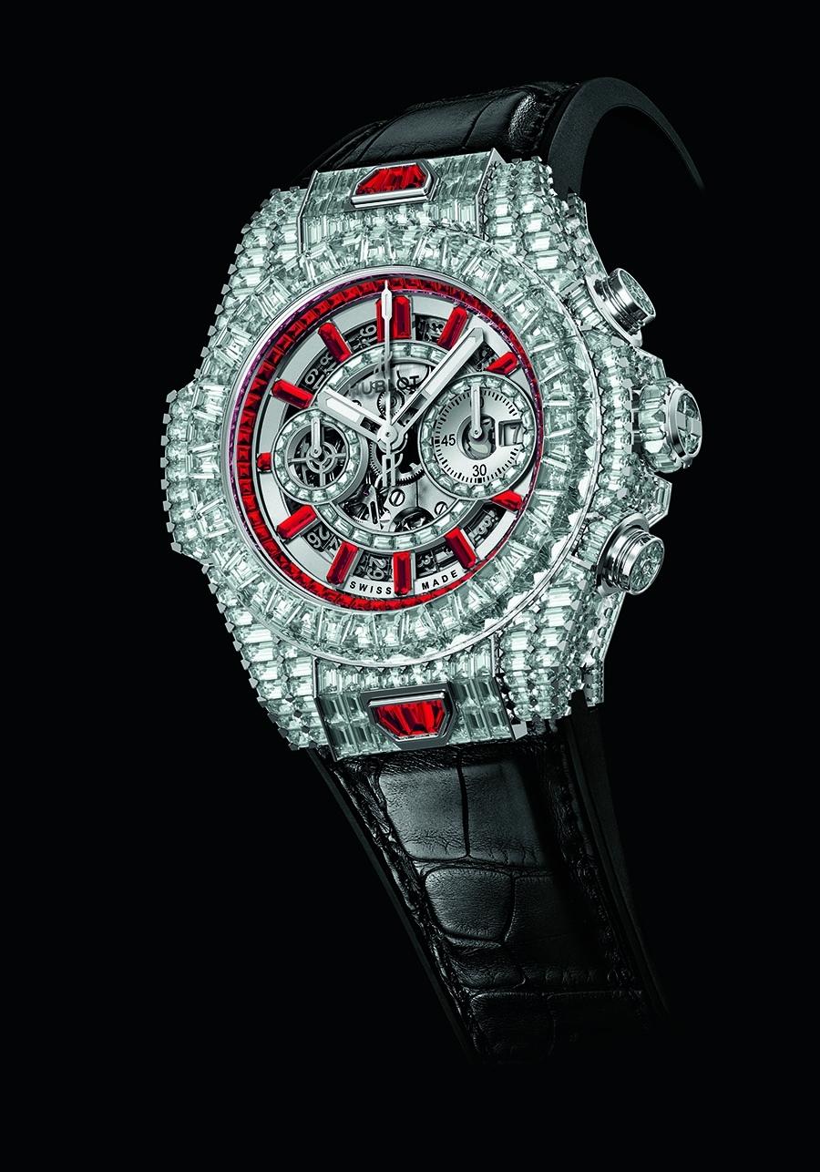 BIG BANG UNICO 10 YEARS HAUTE JOAILLERIE 10 relojes Hublot por 10 ... 540d691052d2