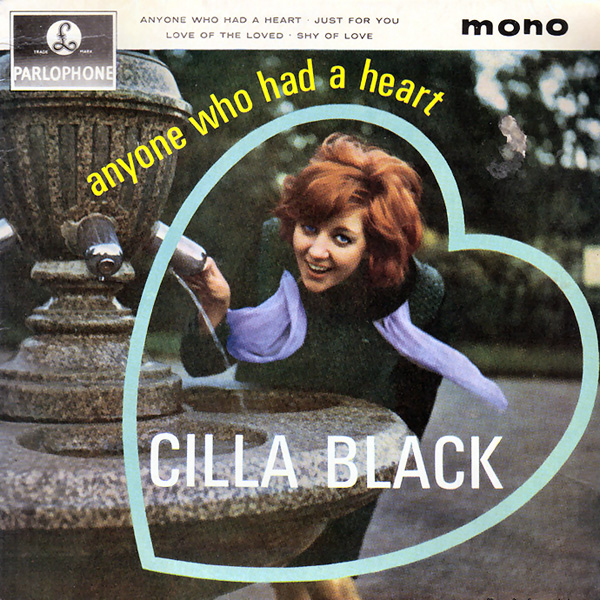 imagen 2 de Anyone Who Had A Heart. Cilla Black.