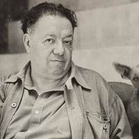Diego Rivera, pintor.