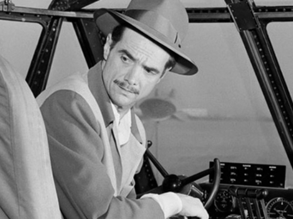 Howard Hughes, aviador y cineasta.