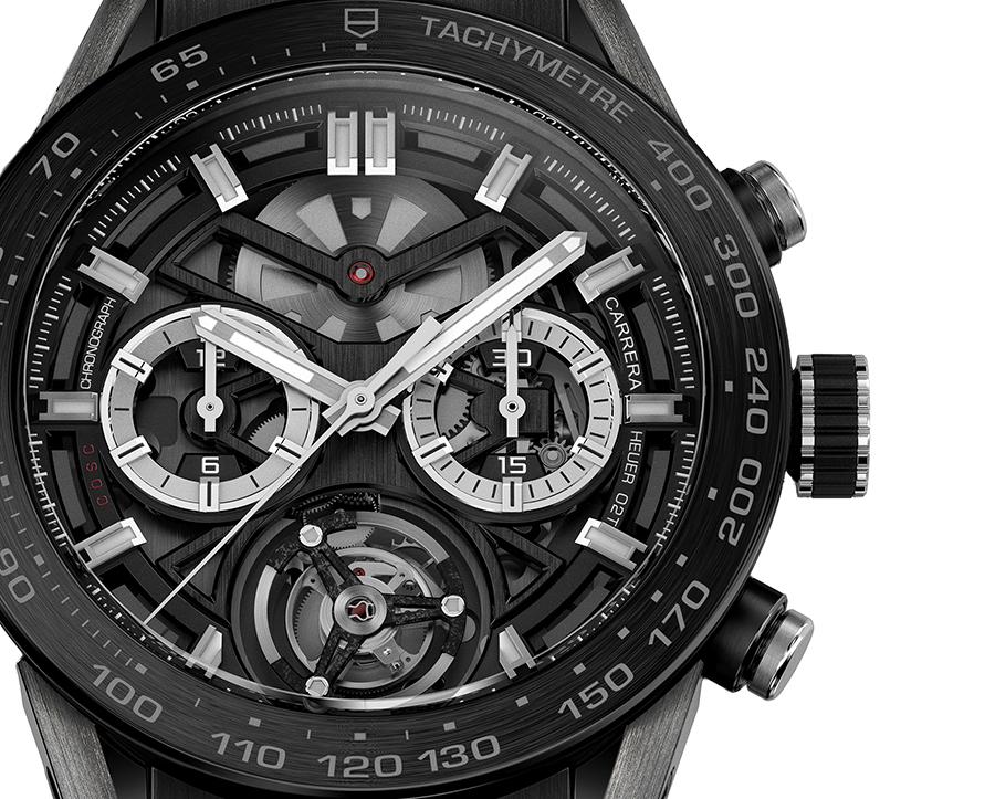 reloj 43df2 cbe07 Cronógrafo Carrera Heuer-02T TAG Heuer lanza un cronógrafo ...