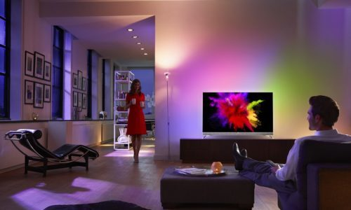 La primera Smart Tv OLED de Philips.