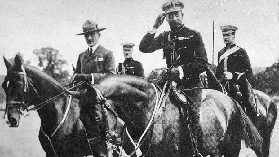 Robert Baden Powell Fundador De Los Scout Loffit