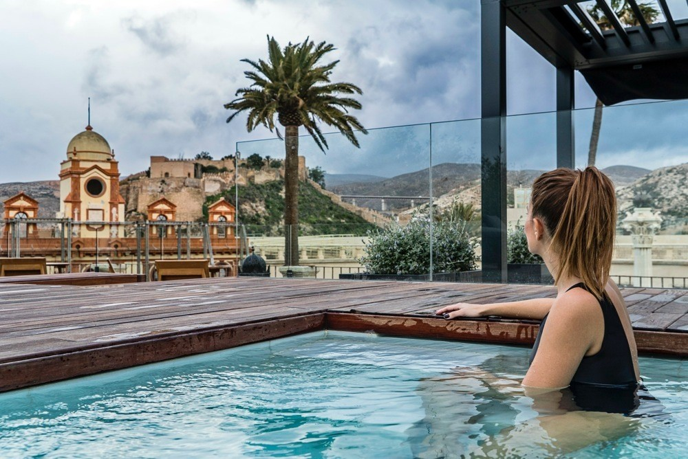 Aire hotel ancient baths almer a y la tradici n de los - Banos aire almeria ...