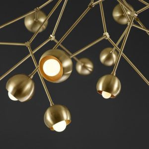 Boom Chandelier: esas lámparas de Lightmaker Studio.