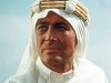 Peter O'Toole, el rostro de Lawrence de Arabia.