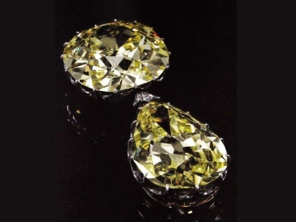 The Donnersmarck Diamonds a subasta: diamantes amarillos, amor y 10 millones de dólares.