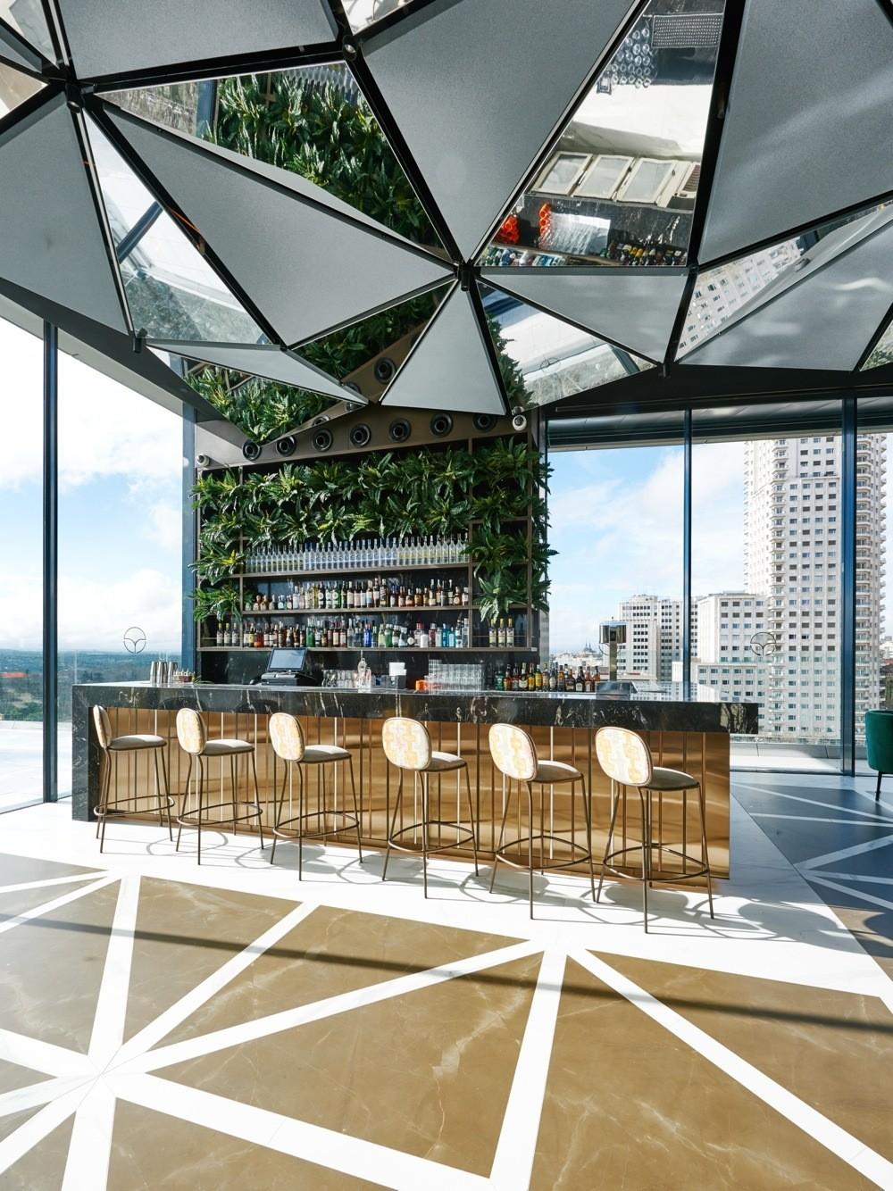 Ginkgo Sky Bar La Nueva Terraza De Moda En Madrid Loff It