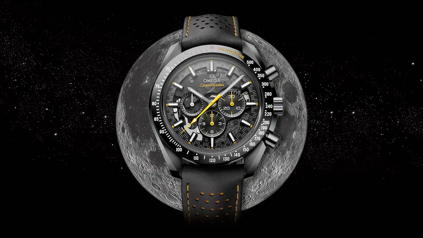 imagen 1 de Omega Speedmaster Dark Side of the Moon Apollo 8.