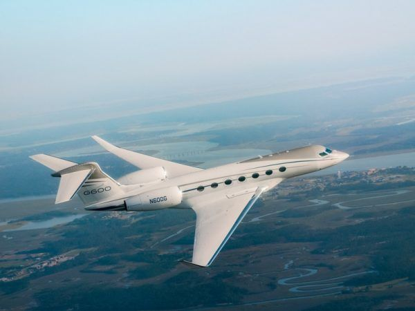 Gulfstream G600, un nuevo y exclusivo jet privado.