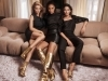 Rosie Huntington-Whiteley, Joan Smalls y Lily Aldridge, las chicas de oro de Jimmy Choo.