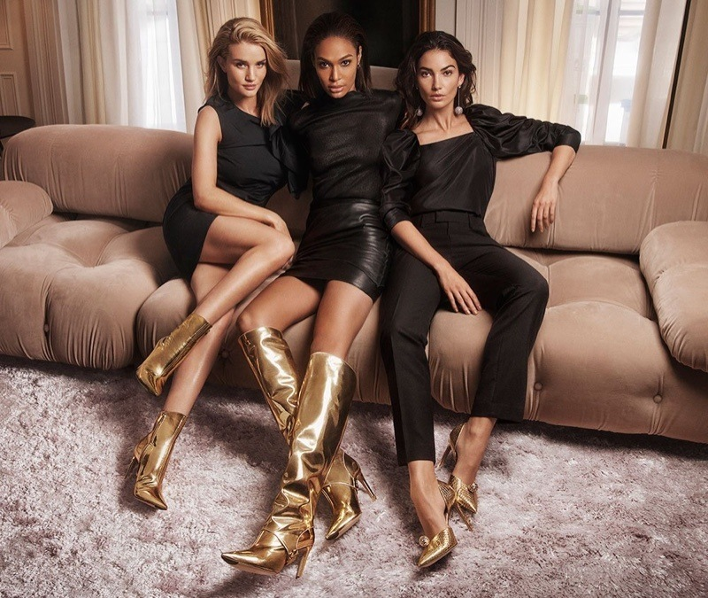 imagen 7 de Rosie Huntington-Whiteley, Joan Smalls y Lily Aldridge, las chicas de oro de Jimmy Choo.