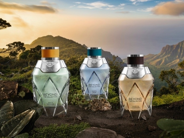 Bentley Beyond – The Collection, triple esencia perfumada.