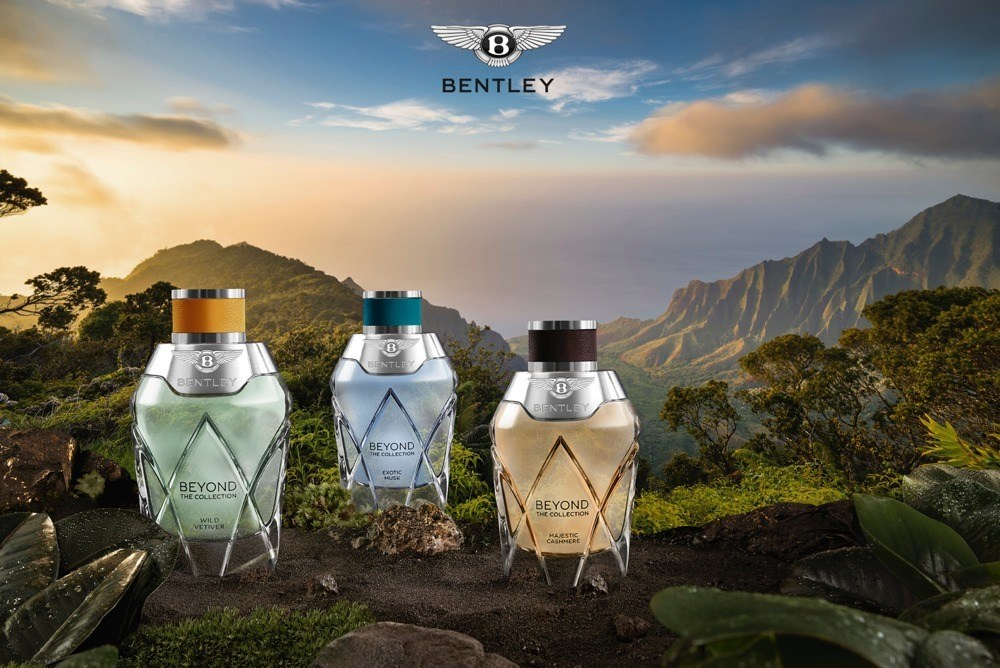 imagen 1 de Bentley Beyond – The Collection, triple esencia perfumada.
