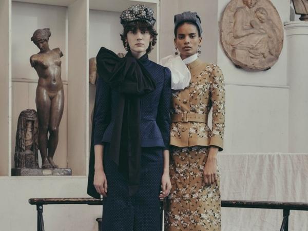Moda con aires victorianos: la propuesta otoñal de Erdem.