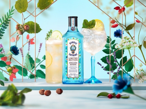 Bombay Sapphire English Estate, la ginebra más british del momento.
