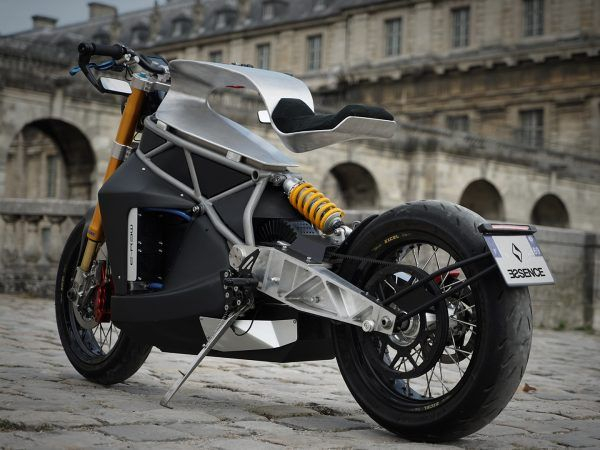 Essence E-raw 04 Signature, un prototipo de motocicleta de diseño para soñar.