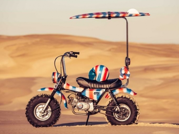 The Goof Bike, una verdadera moto de playa.