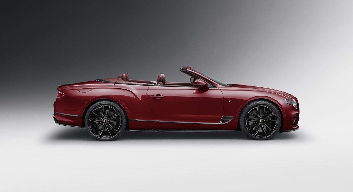 imagen 5 de Bentley Continental GT Convertible Number 1 Edition by Mulliner o la herencia recibida.