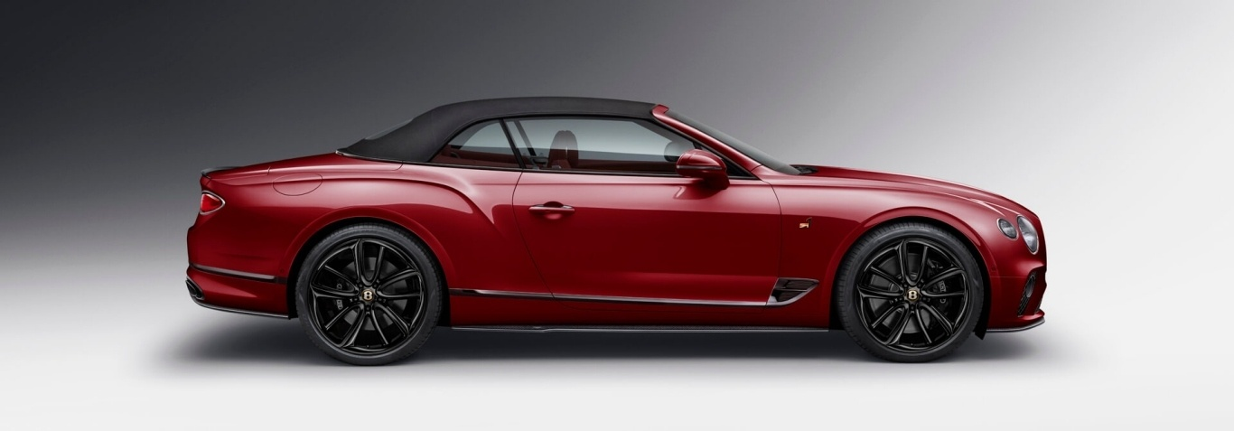 imagen 3 de Bentley Continental GT Convertible Number 1 Edition by Mulliner o la herencia recibida.