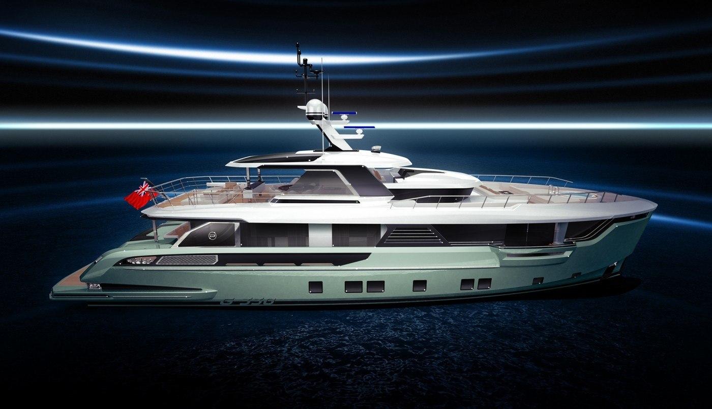 Global 330, el primer yate para exploradores de Dynamiq Yachts.