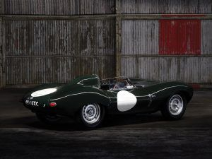 A subasta el mítico Jaguar D-Type de Richard Attwood.