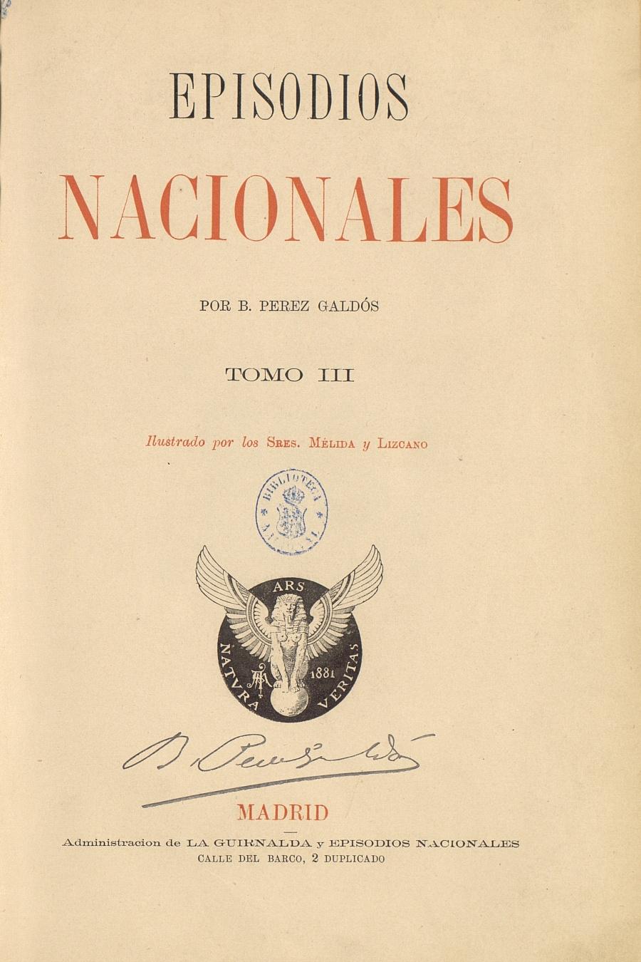 Año Galdós El espíritu de Benito Pérez Galdós impregna el