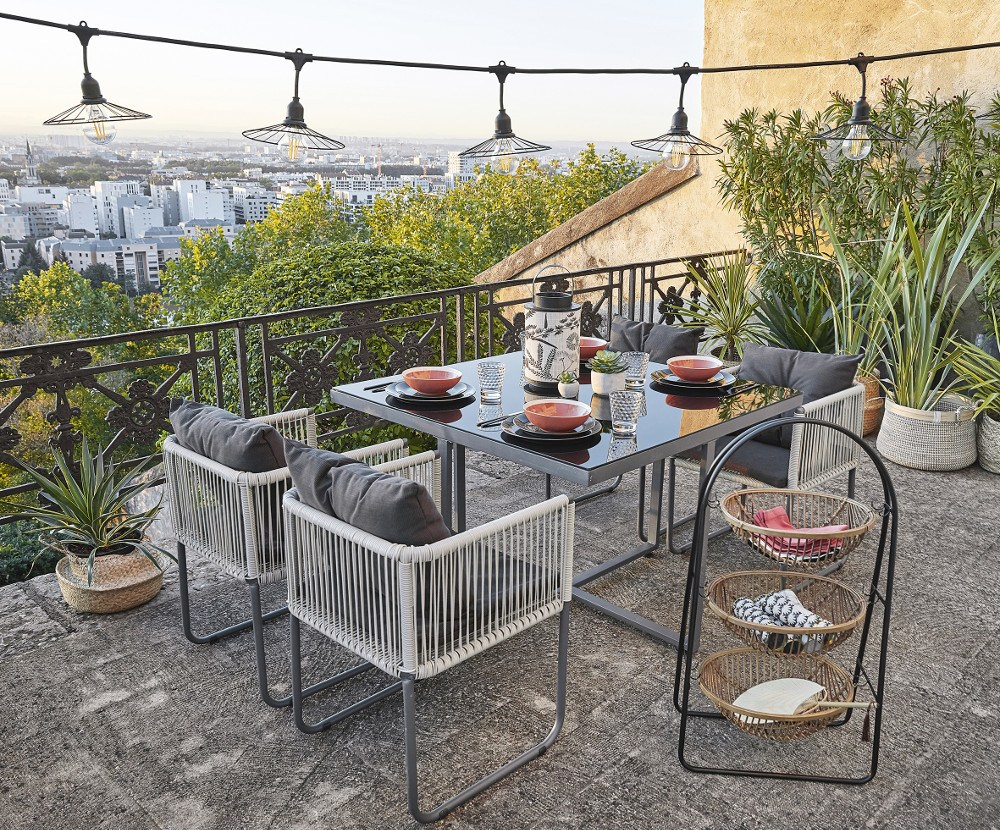 Maisons Du Monde Nos Presenta Las Mejores Opciones Para Terrazas Y Balcones Que No Dariamos Ahora Por Tener Una Terraza Bonita Maisons Du Monde Nos Da Opciones Loff It