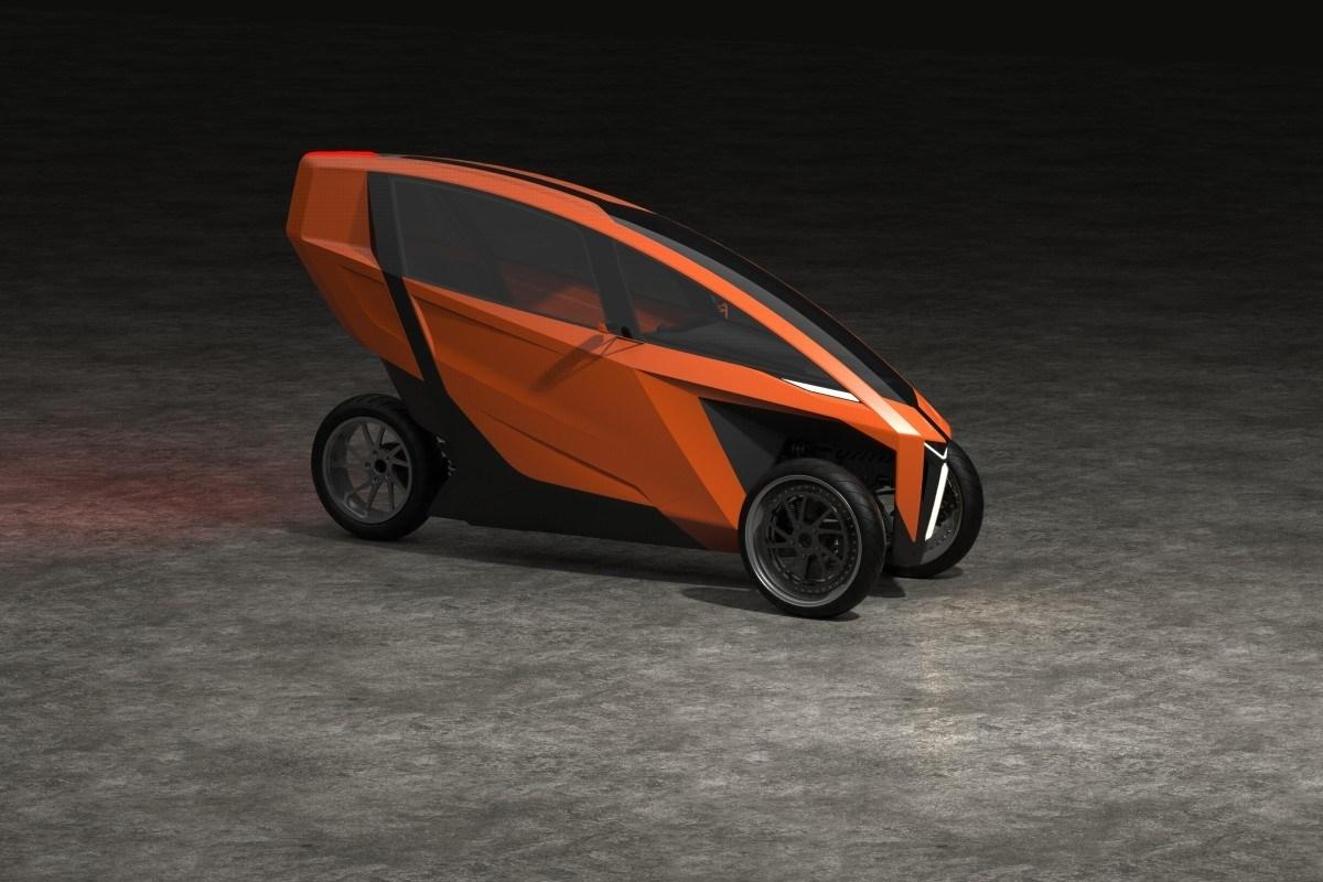 AKO Electric Trike, segundo prototipo de un vehículo llamado a revolucionar la movilidad urbana.