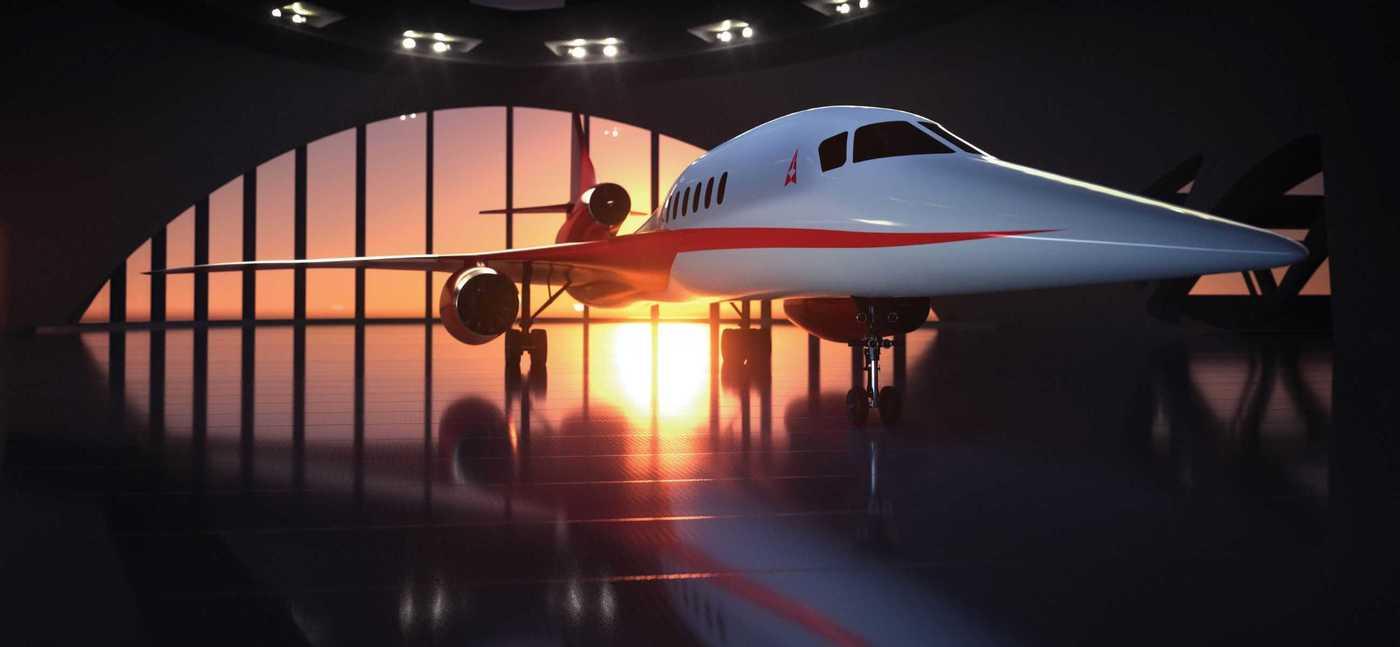 AS2, el primer jet comercial y supersónico.