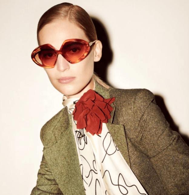 El mundo a ojos y gafas de Victoria Beckham.