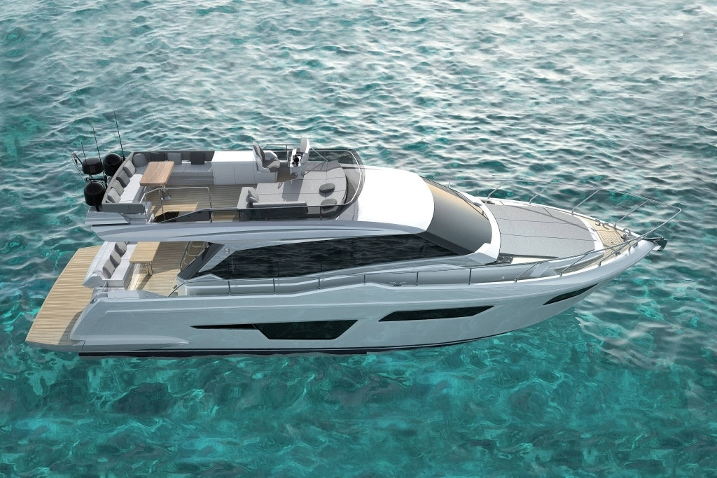imagen 2 de Ferretti Yachts 500 Project, what's your mood?