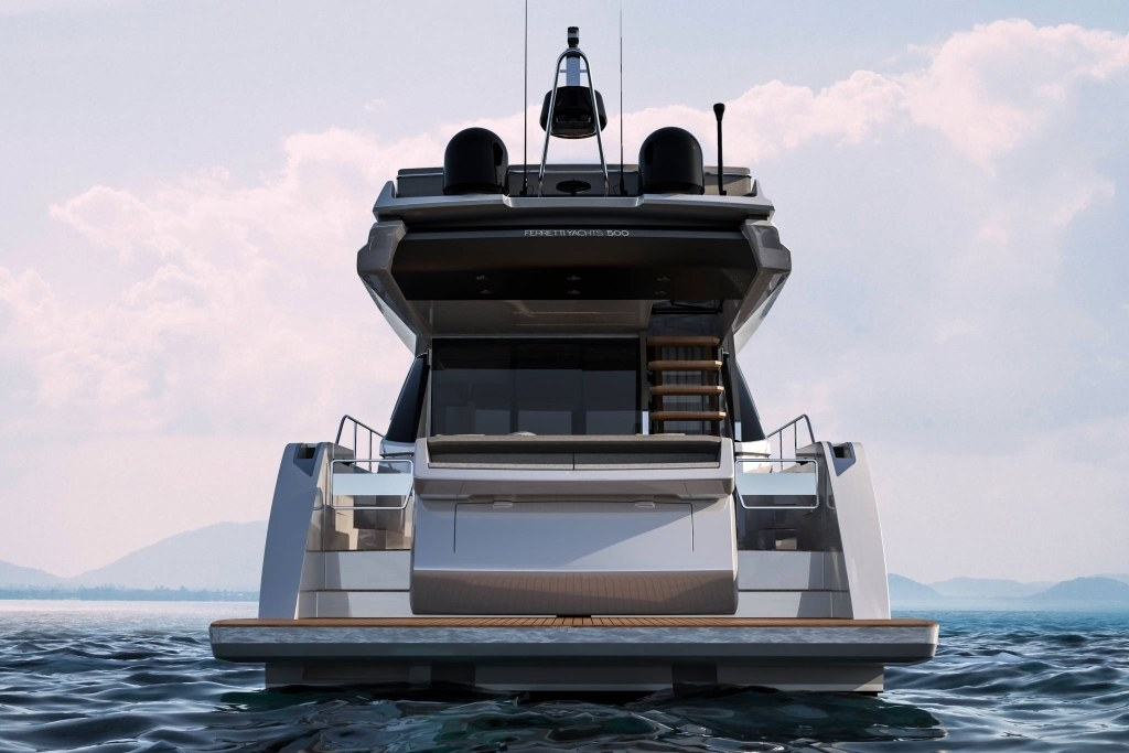imagen 5 de Ferretti Yachts 500 Project, what's your mood?