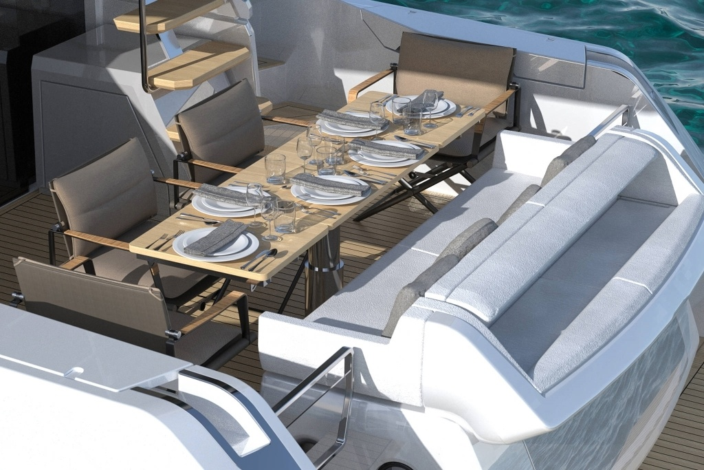 imagen 7 de Ferretti Yachts 500 Project, what's your mood?