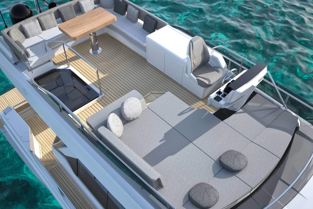 imagen 10 de Ferretti Yachts 500 Project, what's your mood?