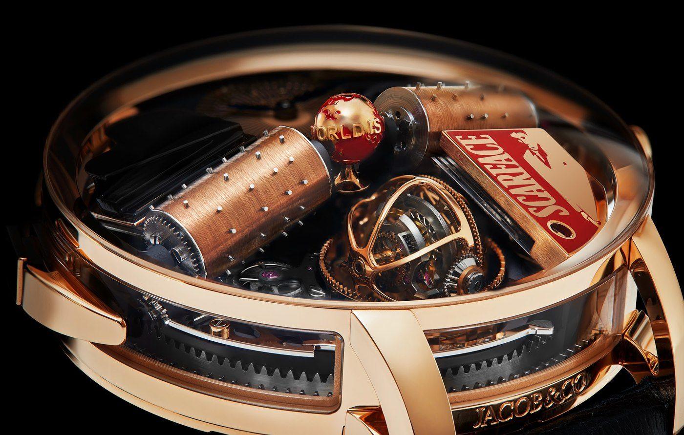 Jacob & Co Opera Scarface, un reloj de cine.