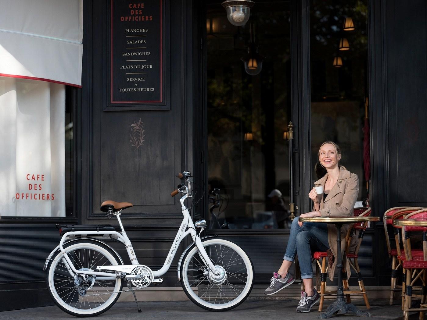La legenda de Peugeot es una bicicleta.