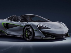 Imagen de McLaren 600LT Spider by MSO, a flash of green.