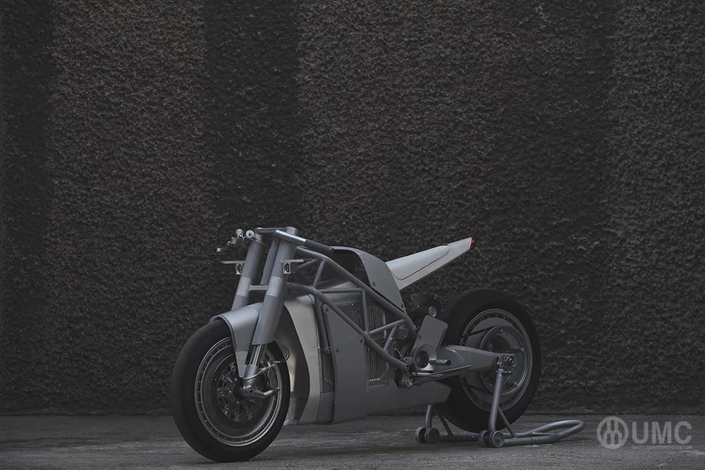 UMC-063 XP ZERO, una nueva motocicleta eléctrica y de diseño.
