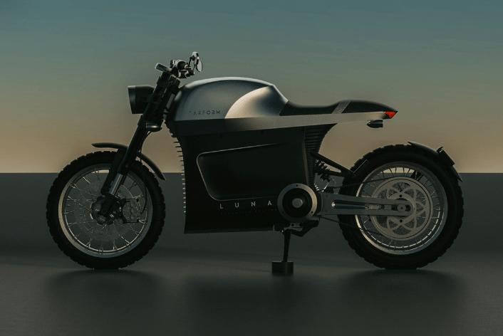 La Luna, según Tarform, es una motocicleta de escándalo.