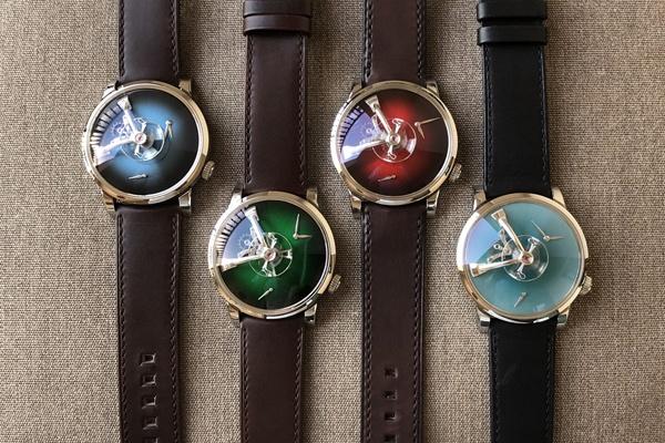 MB&F y H. Moser & Cie nos sorprenden con dos relojes espectaculares.