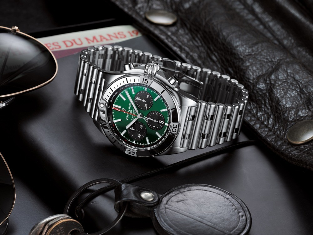 Chronomat B01 42 Bentley: son las Breitling en punto.