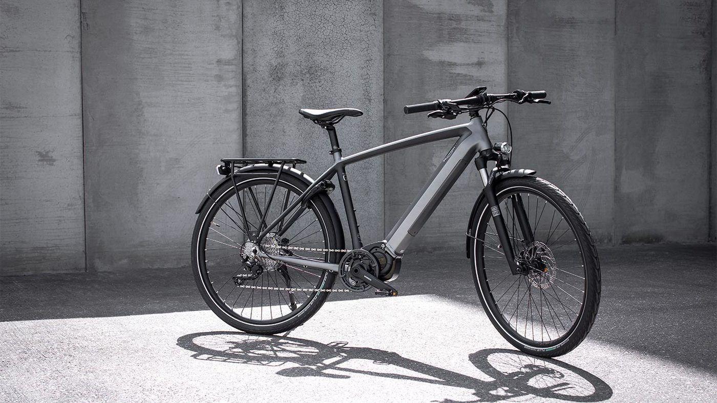 Trekker GT, la primera bicicleta eléctrica de Triumph.