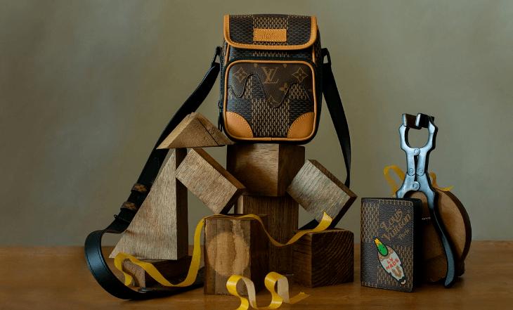 Virgil Abloh y el diseñador japonés y DJ Nigo presentan una colección de complementos muy Vuitton.