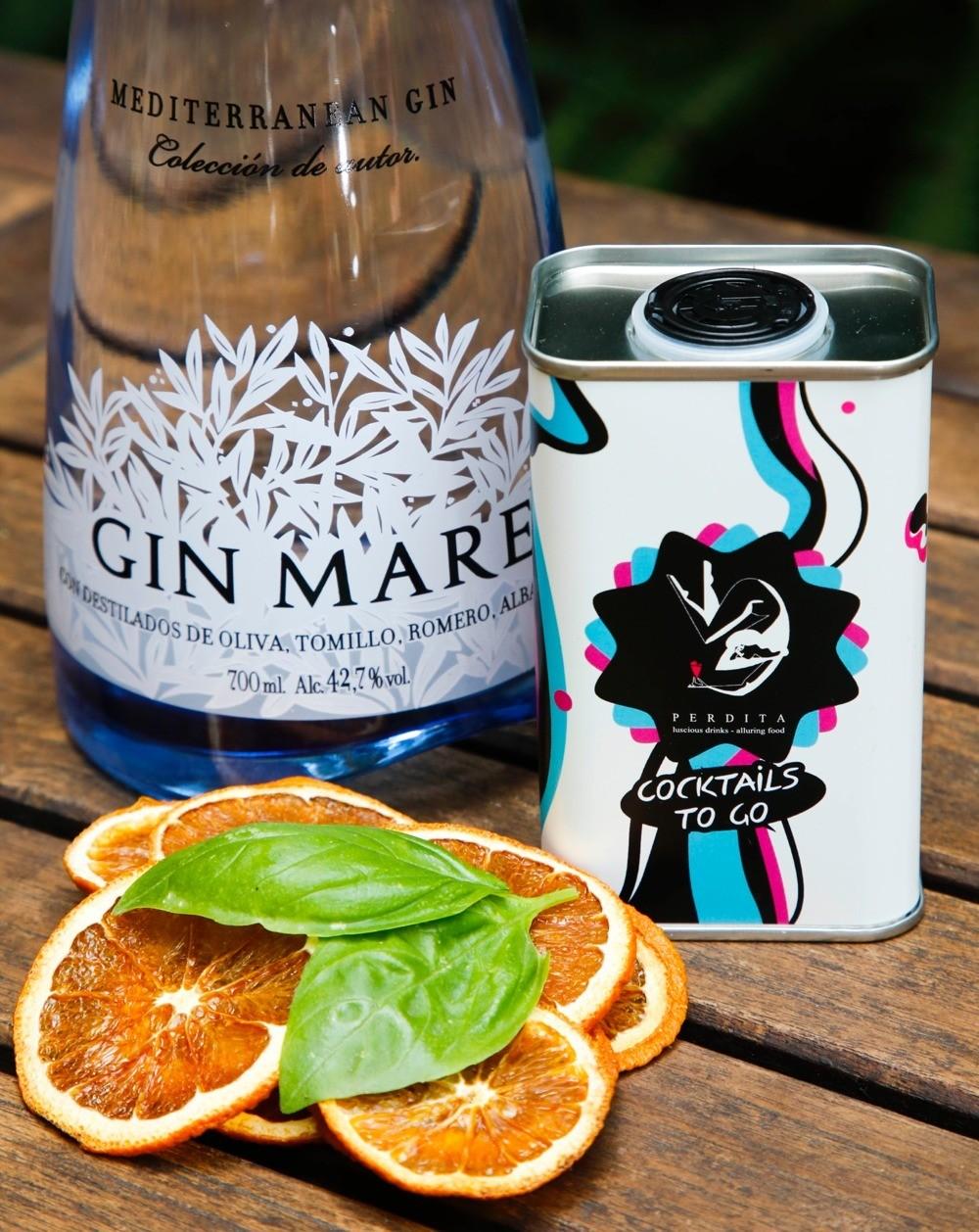 Cócteles to Go: con Gin Mare estás Perdita.