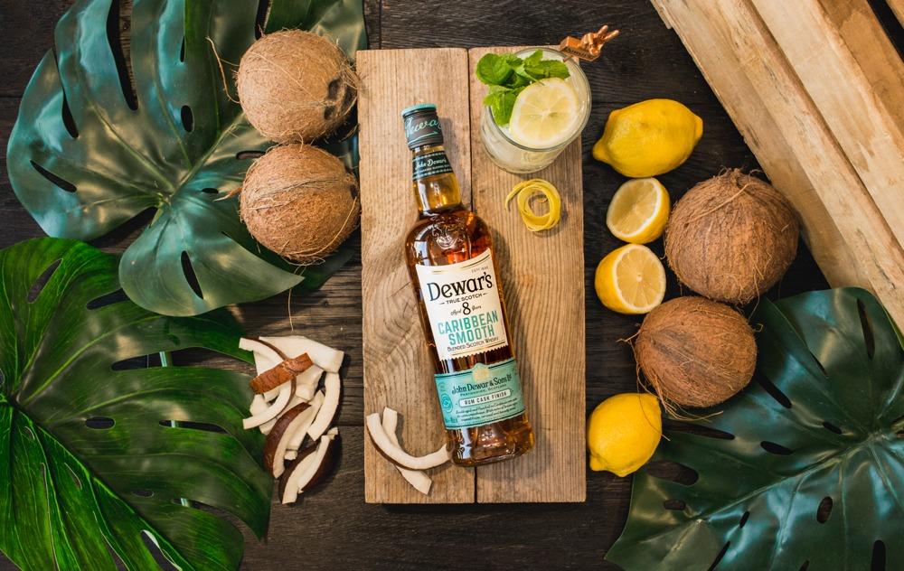 Dewar's 8 Caribbean Smooth, el whisky con un toque de ron.
