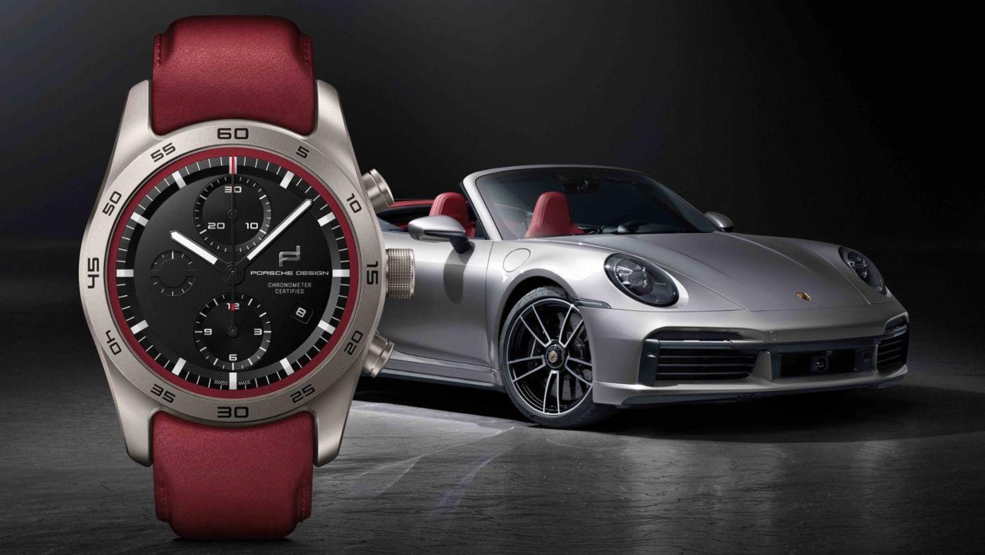 ¿Te imaginas tener un reloj Porsche Design a juego con tu Porsche?